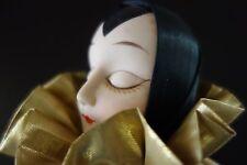 Antique Venetian Porcelain Doll dressed in silk