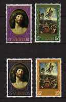 15515) St.Lucia 1969 MNH New Christmas 4v Rubens