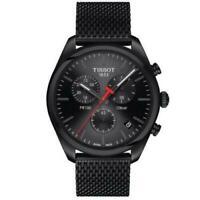 Tissot T101.417.33.051.00 PR100 Black Chronograph Watch Men's