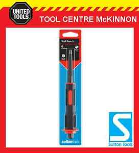 SUTTON TOOLS 5mm NAIL PUNCH WITH SOFT GRIP HANDLE