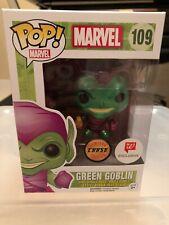 Funko POP Marvel Spider-Man Green Goblin Chase Metallic Walgreens Exclusive
