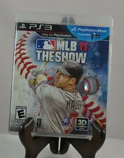 MLB 11: The Show (Sony PlayStation 3, 2011) TESTED COMPLETE FAST-FREE SHIPPING