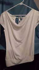 Express Women's White Top Size Small(C16)