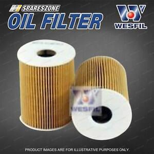 Wesfil Oil Filter for Bmw M3 E90 E92 E93 Petrol S65B40A MPFI DOHC 32V 07/08-on