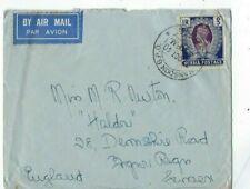 1940 Rangoon Burma Airmail to England, 1R KGVI Single Franking