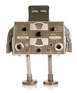 NerdBots Found Object Folk Art Robot Bob/Genometer