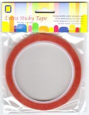 6mm x 10mtr Extra Sticky Double Sided Tape (Redline Tape)