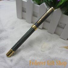 LISEUR Green Stripe Fountain pen EF nib gift ink pen L9986