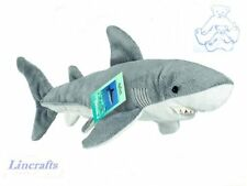 Shark Plush Soft Toy Sea Creature by Teddy Hermann Collection. 90138