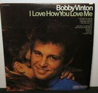 BOBBY VINTON I LOVE HOW YOU LOVE ME (VG+) BN-26437 LP VINYL RECORD