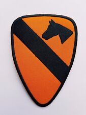 US Army 1st Cavalry Division Airborne insignia - Iron On patch Sew Transfer