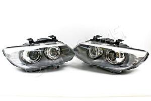 BMW 3 Series E92 E93 Facelift LED AFS Bi Xenon Headlights Front Lamps PAIR OEM