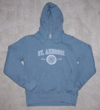 St. Ambrose University Fighting Bees Hoodie Sweatshirt Light Blue XS MINT