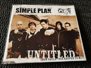 Simple Plan - Untitled - 2005 Lava CD single - Aus press punk pop rock
