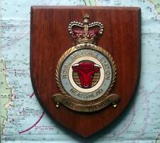 Vintage RAF Royal Air Force Neatishead Station Squadron Crest Shield Plaque A+