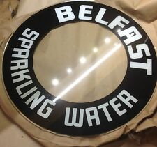 glo dial vintage electric neon clock belfast sparkling water glass replacement