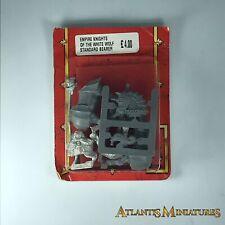 Metal Imperio Caballeros del Lobo estándar BLISTER-WARHAMMER edad de Sigmar C14