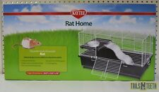 KayTee Rat Home - Unique Design Ensures Security - Chew-Proof Latches