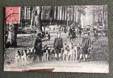 CPA. PONT Ste MAXENCE. 60 - Equipage d'Halatte. Croix du Grand Maitre. 1907.