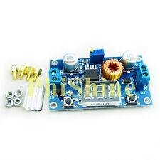 5A 75W DC DC Step down Power Module Verstellbar LED Voltmeter mit Schrauben