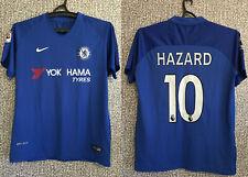 CHELSEA FC #10 EDEN HAZARD Football Soccer Shirt Jersey Top Replica Mens Size M
