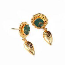Crystal Rhinestone Women`s Wedding Elegant Brass Earrings EarringEthnic Earrings