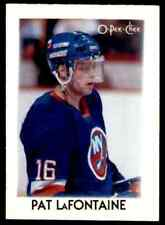 1987-88 O-Pee-Chee minis  Pat LaFontaine #22