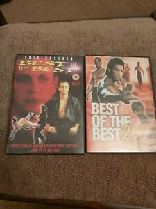 Best of the Best & Best of the Best 2 DVD Eric Roberts
