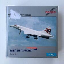 Herpa 507035 British Airways Concorde 1:500