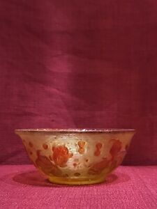 Maginficient Chinese peking Glass Bowl.