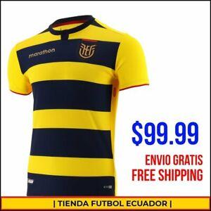 Ecuador National Team Copa America 2021 [ YELLOW - HOME JERSEY ] Ecuador Soccer