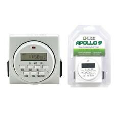 Titan Controls Apollo 9 Two Outlet Digital Timer - dual 120v 15 amps