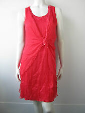 Just For You Kleed Kleid Dress Jurk 146 Rot  Neu Seide M