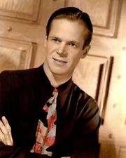 "DAN DURYEA HOLLYWOOD ACTOR MOVIE STAR 8x10"" HAND COLOR TINTED PHOTOGRAPH"