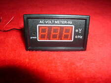 240-LTPSVF-500 VOLT-FREQUENCY METER,  Push Button for voltage or frequency