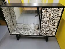 L@@K Fornasetti STYLE UPCYCLED Sideboard / Drinks CABINET Cupboard Very Cool !!!
