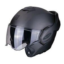 Scorpion Casque Moto modulable Exo-tech Solid Noir Matt L