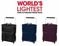 IT Luggage World's Lightest Max Cabin Ryanair Size 55x40x20cm Carry-on Suitcase