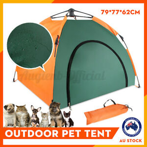 Portable Camping Tent Dog House Pet Sun Shelter Folding Warm In/Outdoor + Bag AU