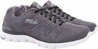 FILA Refractive Men's Memory Foam Athletic Running Shoe Grey/White/Black Size 11