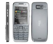 Original Unlocked Nokia E52 WIFI 3.2 MP 2.4 inches MP3 Smartphone Gray