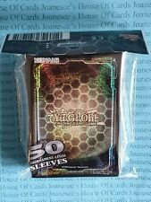 Yu-Gi-Oh Dark Hex Card Sleeves - Holo Deck Protectors
