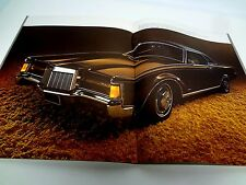 Continental 1971 Mark III Town Car Sales Catalog Brochure Book Lincoln Part MK 3