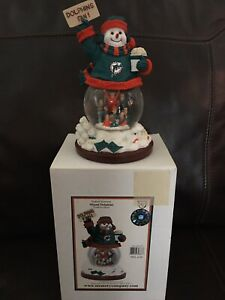 """Miami Dolphins """"Stadium Snowman"""" By Memory Company, 4th in a Series"""