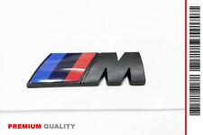 "SCRITTA STEMMA LOGO ADESIVO ""BMW M"" BLACK SERIES EFFETTO OPACO (PREMIUM QUALITY)"