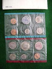 1969 PDS US Mint Set~Sealed -Unopened - Dime Error