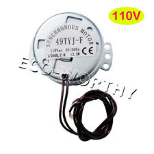 Egg Timing Rotator Motor 110V 1/240(rpm) for Hatcher Chicken egg Incubator Kit