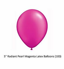 "Qualatex 99332 5"" Round Fantasy Assortment Latex Party Balloons 100ct"