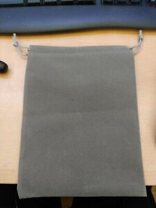 Protective Glasses Self Closing Pouch Bag Sleeve & Grip Cord Grey - New UK