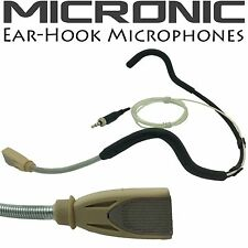 EAR-HOOK HEAD WORN MICROPHONE FOR SENNHEISER EW100 EW300 EW500 G2 G3 3.5mm PLUG